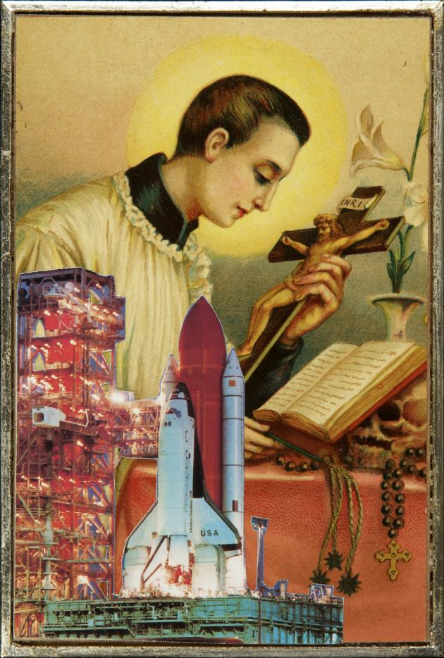 'The Space Age Collages' by Aleksandra Mir