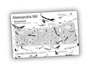 Front cover of 'Aeropuerto' publication by Aleksandra Mir