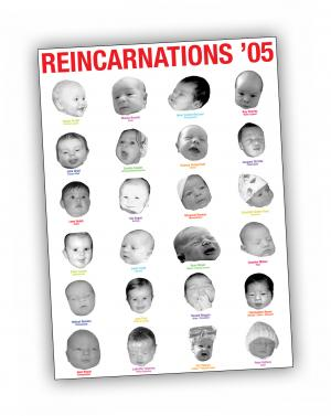 Front cover of 'Reincarnations '05' publication by Aleksandra Mir