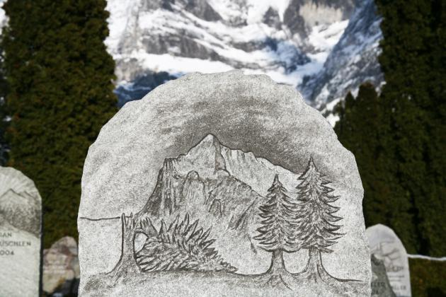 'Tour the Ancient Carvings of Grindelwald' by Aleksandra Mir
