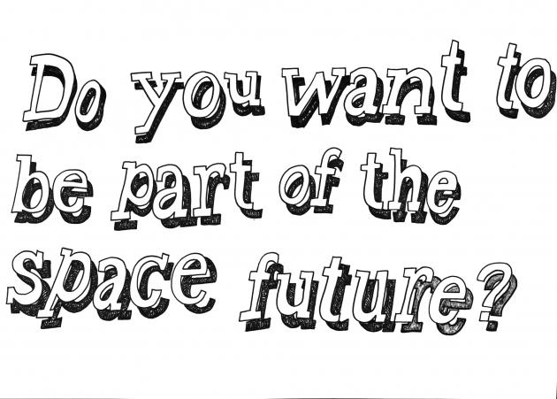 'Space Tapestry - Slogans' by Aleksandra Mir
