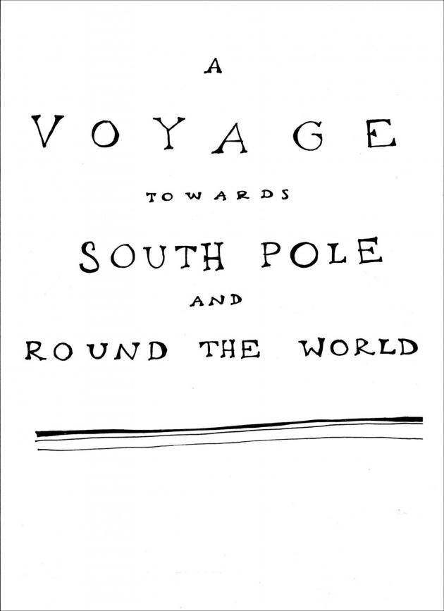 'A Voyage Towards South Pole' by Aleksandra Mir